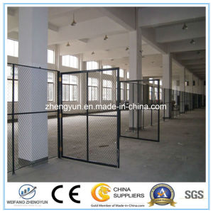 Hot Sale Chain Link Fence Door pictures & photos