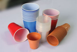 Automatic Plastic Cup Rim Rolling Machine pictures & photos
