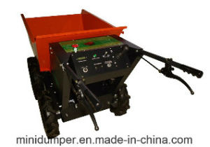 Electric Power Barrow, Battery Power Barrow Mini Dumper, Motorized Wheelbarrow pictures & photos
