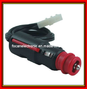 Red Head Germany Car Cigarette Lighter Plug with Cable and Connector pictures & photos