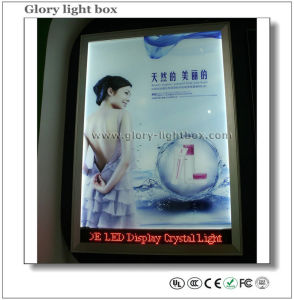Slim Light Box with LED Running Letters Display (CB008) pictures & photos