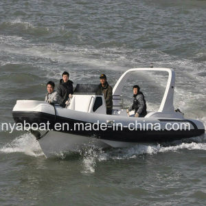 Liya 7.5m 24.5ft Rib Inflatable Boats Inflatable Boat with Outboard Motor for Sale pictures & photos