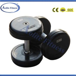 Professional Fixed Dumbbell / Rubber Dumbbell pictures & photos