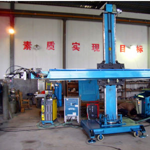 Automatic Welding Manipulator Cross Type Welding Column Boom pictures & photos