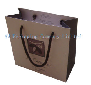 Custom High Quality Printed Logo Gift Packaging Paper Bag pictures & photos