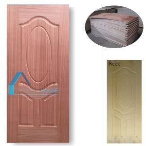 6 Panel Plywood Door Skin with Ash Wood Veneer pictures & photos