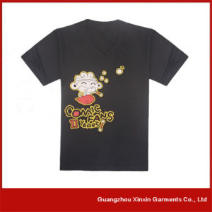 OEM Factory Silk Screen Printing Tshirts for Promotion with Your Own Logo (R56) pictures & photos