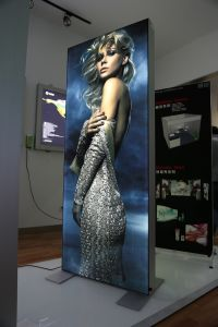 Interior Portable Fabric LED Lighting Sign Box Panel pictures & photos