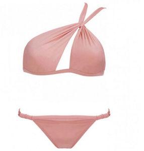 Slant Neck Fashion New Sty; E Bikini Plus Size pictures & photos