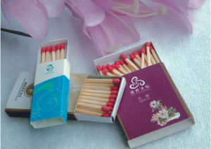 Full Line Phosphorus Wooden Custom Made Safety Matches China Manufacture pictures & photos