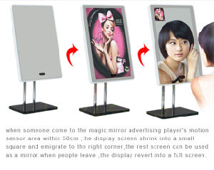 13.3 Inch Digital Signage Maggic Mirror pictures & photos
