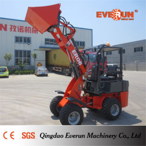 Everun Brand Mini Loader Er06 with Hey Grapple pictures & photos