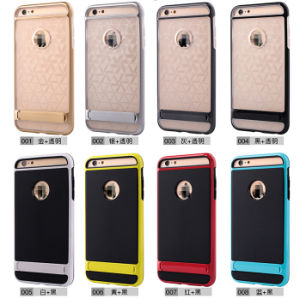Hybrid Shockproof Hard Bumper Soft Case for iPhone6 pictures & photos