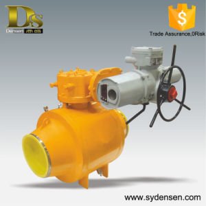 Good Choice Full Welded Electric Actuator Valve pictures & photos