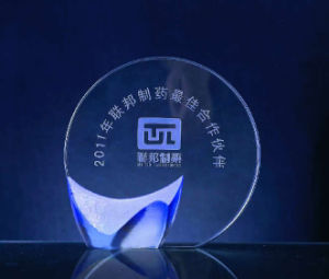 Nice Crystal Award Trophy (WHTC-C0155)