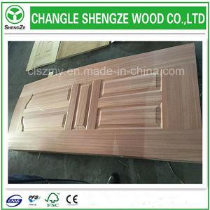 Wood Sapli Vineer Door Skin pictures & photos