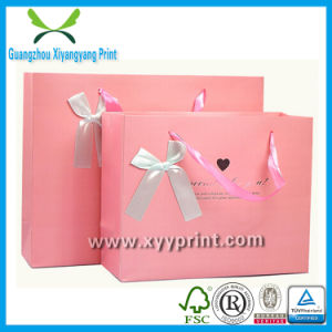 Promotion Shopping Carrier Kraft Gift Paper Bag Print with Handle pictures & photos