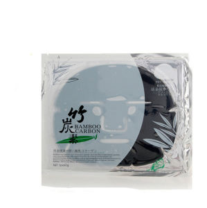 Bamboo Carbon Absorb Bright White Facial Mask pictures & photos