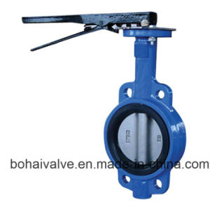 Manual Cast Iron Butterfly Valve