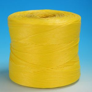 Yellow Color PP Twisted Rope Manufacturer in China pictures & photos