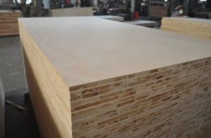 Natural Red Oak Fancy Paulownia Wood Blockboard 18mm Sale Prices in Mexico pictures & photos