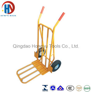 Pb-Free and UV Resistant Powder Coating Surface Hand Truck (HT1827A) pictures & photos