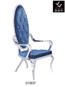 Dining Chair / Modern Stainless Steel Hotel Dining Chair (CY837)