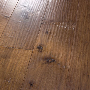 8mm & 12mm Handscraped Laminate Laminated Wood Flooring pictures & photos