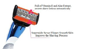 The Sharpest Five Blade Razor A381 5+1 Precision Trimmer pictures & photos