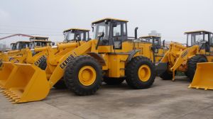 5ton 3.0cbm Wheel Loader, CE Approval, A/C, Joystick