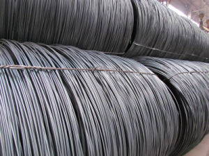 Non-Alloy Mild Carbon Ms Steel Wire Rod pictures & photos