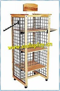 Gondola Gridwall Fixture Stand / Shop Display Stand