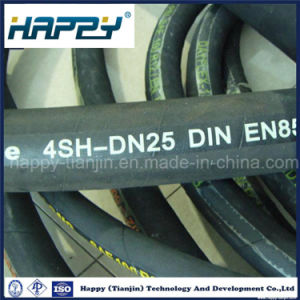 Supply High Quality DIN 4sh Hydraulic Rubber Hose pictures & photos