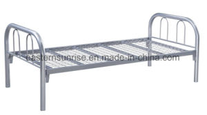 Metal Steel Iron Cheap Strong Qualified Single Bed pictures & photos