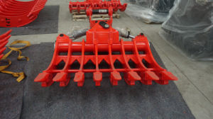 Excavator Tilting Rake, Excavator Root Rake pictures & photos