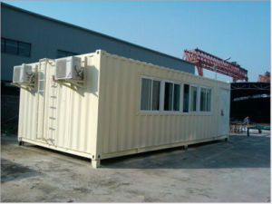 Two Stories Modular Container House for Living and Office pictures & photos