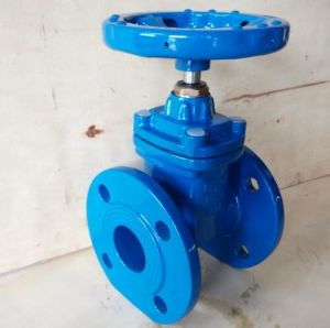 Ductile Iron Non-Rising Stem Resilient Seat F4 Gate Valve with Ce