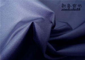 Polyester Dewspo/Pongee Semi/Dull Fabric with PU pictures & photos
