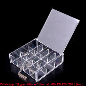 Cheap Price Acrylic Earring Storage Box pictures & photos