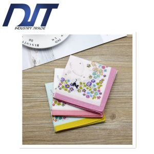 Sweat Japanese Style Fashion Cotton Handkerchief with Custom Made pictures & photos
