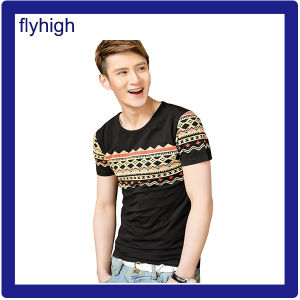 Men′s Fashion Top Quality Pima Cotton T-Shirt pictures & photos