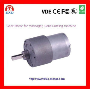12V 37mm DC Gearmotor for card cutting machine