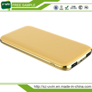 Promotional Gift 10000mAh USB Portable Power Bank Charger pictures & photos