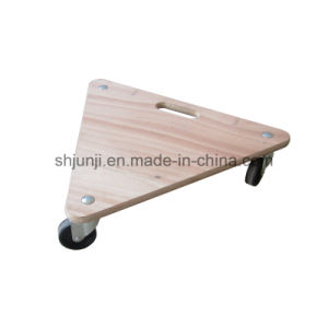 Triangle Wooden Moving Tool Cart pictures & photos