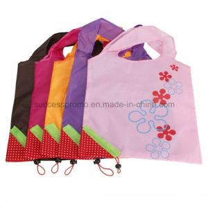 Strawberry Style Foldable Storable Reusable Shopping Bag pictures & photos
