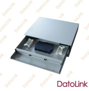 Optic Fiber Patch Panel Slidable Rack Mount Type 24 Cores pictures & photos