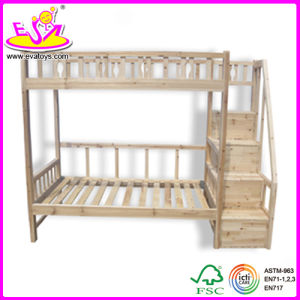 Wooden Furniture Solid Pine Wood Kids Furniture Children Bunk Bed for Age 3- 12 Old (WJ278703) pictures & photos