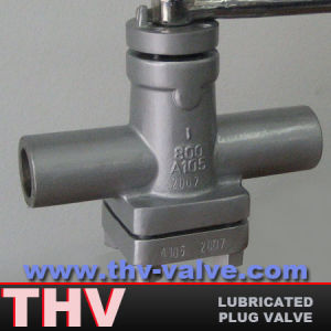 Forged Steel Lubricated Plug Valve.