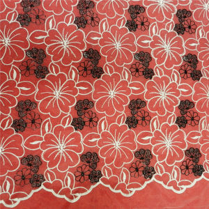 China Embroidery Voile Lace Fabric (L5139) pictures & photos