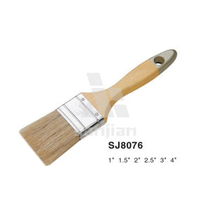 Sjie8076 Nylon Bristle Oil Paint Brush Wooden Handle pictures & photos